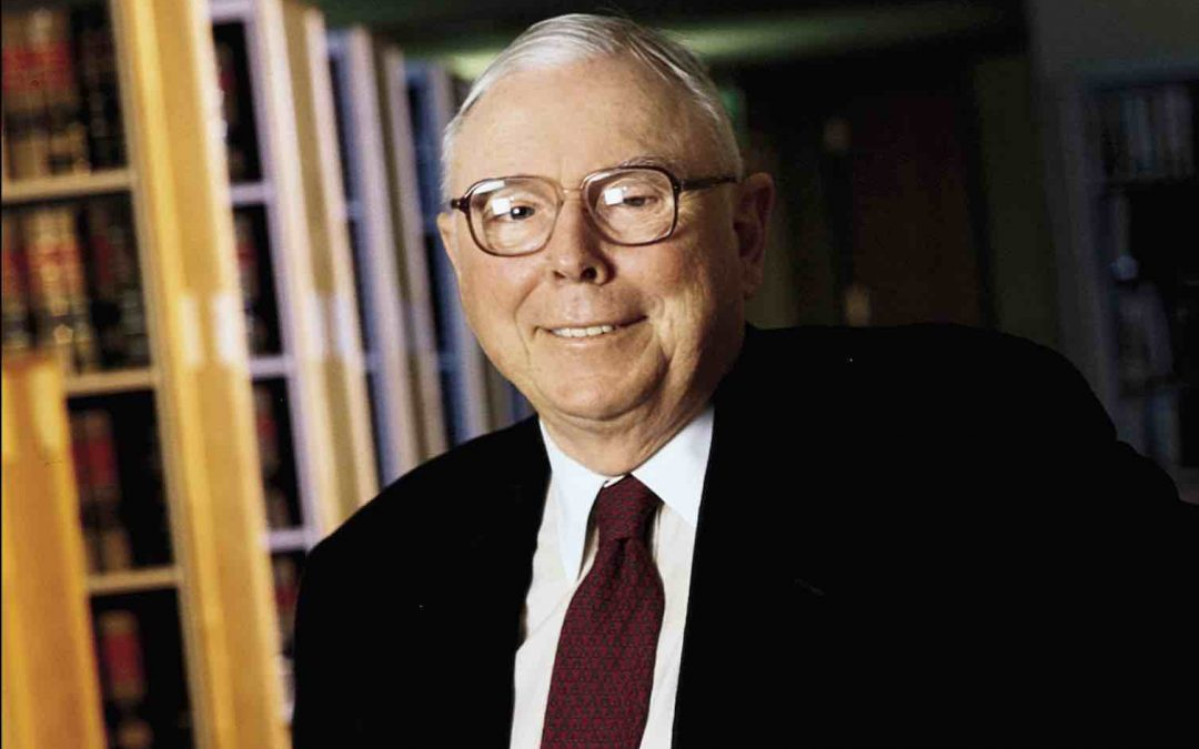 The Psychology of Human misjudgment, By Charlie Munger, 1995
