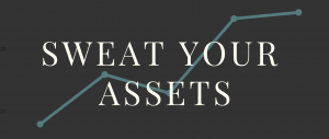 SWEAT YOUR ASSETS logo