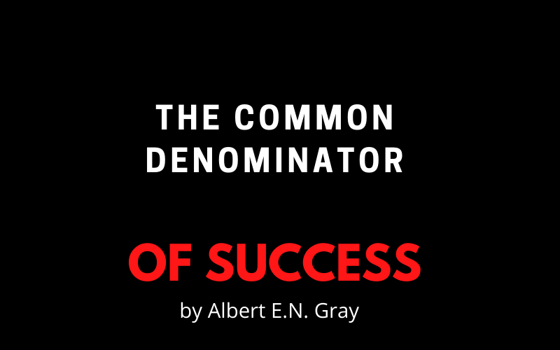 The common denominator of success_Sweat your Assets