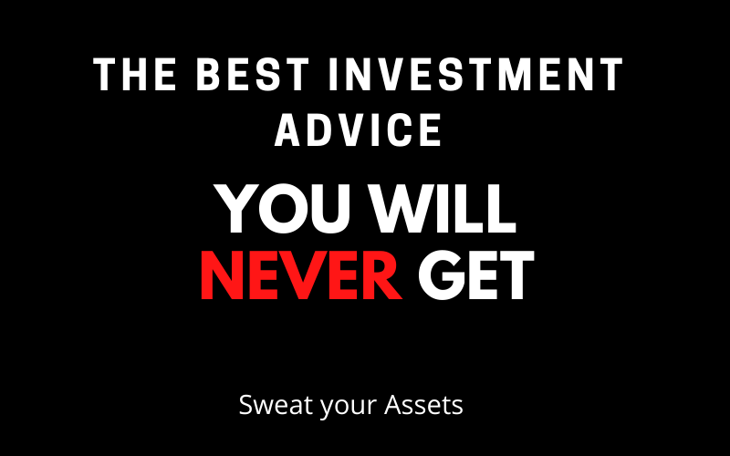 THE BEST INVESTMENT ADVICE YOU WILL NEVER GET_MARK DOWIE_MASTER YOUR FINANCES_SWEAT YOUR ASSETS
